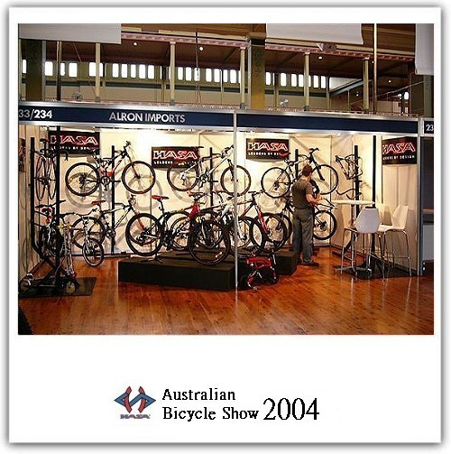 AUSTRALIAN BICYCLE SHOW 2004